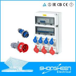 Plástico caliente la venta de enclavamiento mecánico personalizado caja de toma de caja de toma de distribución