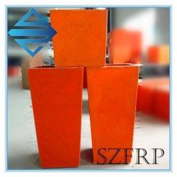 Bonne qualité de la fibre de verre Pot de Fleur pot de fleur de PRF GRP Pot de Fleurs Pots en fibre de verre du semoir en fibre de verre plante en fibre de verre Pots Pots d'arbre de fibre de verre