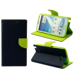 Hybird Wallet Leather Caso per Samsung Note 2 N7100