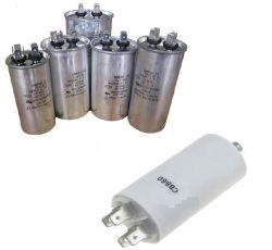 Les condensateurs de pièces de rechange de climatiseur de vide avec 250V/370V/440V (CBB65)