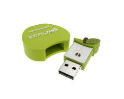 Multifunktions-USB-Blitz-Laufwerke, Zoll Kurbelgehäuse-Belüftungusb-Feder-Laufwerk