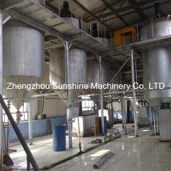 planta da refinaria de petróleo da soja da planta de óleo do feijão de soja 15t/D mini