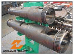 См55 Kmd конические двойной головкой цилиндра экструдера с двойной головкой цилиндра экструдера поливинилхлоридная труба