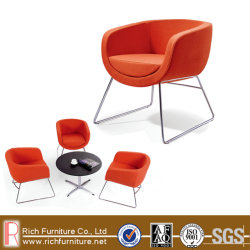 Visita de design moderno Cadeira de lazer em tecido de alta qualidade, couro italiano