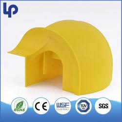 Gaine PVC ABS fait du chemin de câbles de fibre