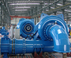 1MW pequenas turbinas Francis / Água Projeto de Energia Hidroeléctrica do Turbogerador