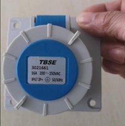 IEC309 منافذ صناعية كهربائية ثلاثية الأطوار IP67 2/3/4/5