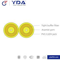 FTTH GJFJBV Indoor Câble plat recto-verso Fig. 8 câble à fibre optique Zipcord