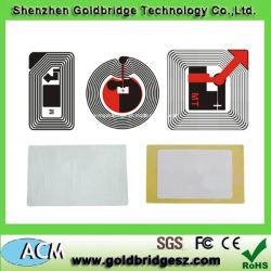 UHFpapier-Aufkleber mit Gen2 Span 868MHz oder 915MHz, Größe 85*54mm