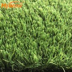 30mmのフットボールのゴルフ庭のための総合的な泥炭の私用芝生の人工的な草