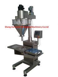 Halbautomatische Milchpulver Verpackungsmaschine für Flasche & Beutel 10-5000g