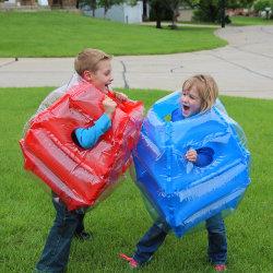 아이들 PVC 옥외 게임 거품 Bopper 팽창식 바디 Zorb 아이를 위한 풍부한 공 한 벌