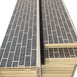 Prefabbricati materiali edili 16mm ignifughi e impermeabili decorativi esterni Pannello a parete 3D in PU a isolamento termico produttore