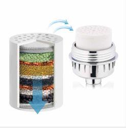 Amzon Verkaufsschlager-Dusche-Filtration-Kassetten-Abwechslung für Dusche-Wasser-Filter-Kopf-Dusche Filter