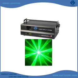 Stage effect Tekst Animatie Beam 1W Groene laserverlichting