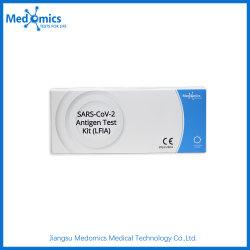 Uso Humano Dispositivo de detección de virus contagiosos antígeno rápido juego de prueba de diagnóstico (20 test/caja).