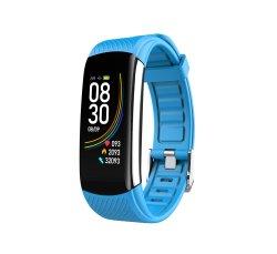 Skmei c6t Temperatura do corpo humano Hr Bp Bo Ecrã Táctil Smart Monitor Cardíaco relógio de pulso