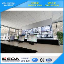 Bloque de hormigón ligero automático de la planta de producción de materiales de construcción