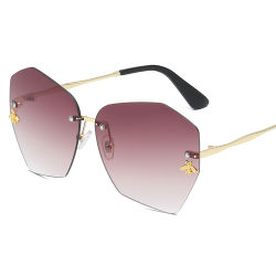 Gráfico de várias cores Design Dh Gates Sexy Muamua Premium colorido estilo retro óculos 2021 Hbk Grosso Logotipo personalizado unissexo óculos de sol