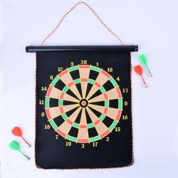 Doppelseitige Innensicherheit-klebriger TuchDartboard des Kind-pädagogische Sport-Schießen-Spiel-Spielzeug-42cm
