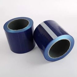 파란색 투명 필름 자체 접착식 파란색 PE 보호 필름 제품 다목적 PE 블루 보호 필름