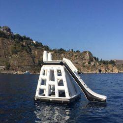 Sommer Schlauchboote Wasser Pool Spielzeug Sport Spiele Schwimmende Pyramid Ladder Wasserspielzeug für Wasserpark
