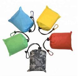 Hotsale Wholesale Colchoneta Camping patrón personalizado almohadilla playa personalizada bolsa impermeable de nylon de bolsillo plegable Picnic Mat
