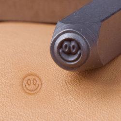 宝石類のツールの金属の記号のスタンプS018のにこやかな表面記号の穿孔器