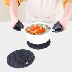 Orecay 15 pollici silicone forno mits: 500 F termoresistente Mittens cucina Mittens Extra lunghi forno non Slip Pot Holder flessibili