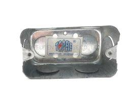 Caja de conductos rectangulares de acero galvanizado de acero cajas eléctricas cuadro Dispositivo Interruptor de la caja de empalmes eléctricos