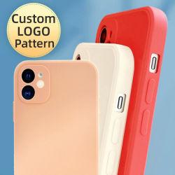 애플 아이폰 케이스와 호환 가능한 세미, 도매 소프트 셀 케이스, 10 컬러, OEM 사용자 지정 저가, TPU 뒷면 커버, 휴대폰 케이스 13