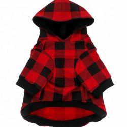 Il cane molle di Hoodie del cane di modo su ordinazione caldo di vendita copre il rivestimento del cappotto del cane di animale domestico