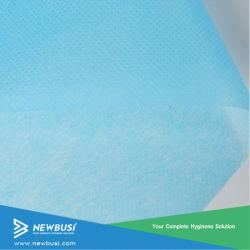 Blanc Bleu 25PP Spunbond nontissé GSM pour masque