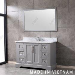 Fabriquées au Viêt Nam en bois massif Salle de bains meubles de luxe vanité fixe