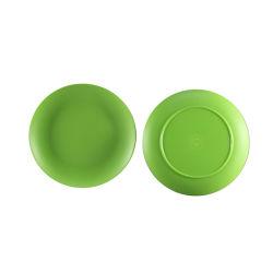 Matt Louça Prato Verde Placas Jantar de plástico