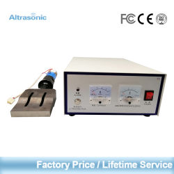 Fabrieksprijs snelle verzending OEM/ODM Altrasonic 20 kHz Analog Generator Face Masker Making machine Parts Ultrasonic Lassing System for Fabric Plastic Lasser met CE