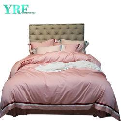 De beste Zijde van de Dekking van het Dekbed van het Huwelijk van de Kwaliteit Luxe Comfortabele Lichtrose 4PCS 100%