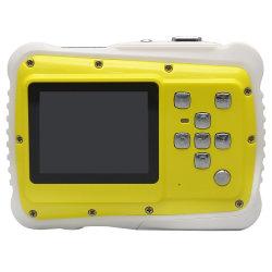子供のための工場直接供給の黄色およびオレンジ小さく、美しいビデオデジタルカメラ