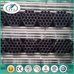 St38 DIN Tubo de acero al carbono, el conducto Pre-Galvanized decorativa de gran diámetro de tubo de acero del tubo de acero corrugado
