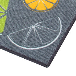 EVA-Badezimmer-Wolldecke und büschelige Teppich-Nylonküche gedruckter Teppich
