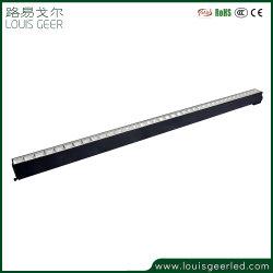 Beleuchtung-Aluminiuminstrumententafel-Leuchte des niedrigen Preis-Innen-LED lineare des Licht-IP20 schwarze Pendent des Licht-2700K-6000K 60W Pendent