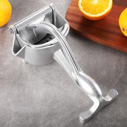 새로운 휴대용 수동 주서기 알루미늄 합금 핸드 주서기 스ezer 무료 주스머신 오렌지 주서기 주서기 주서기 주키용 과일 메이커