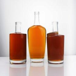 720мл Custom Уникальная форма стеклянную бутылку ликера контейнер духа стеклянную бутылку посудой производителя