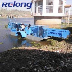 Fuel-Efficient com Extrator de Ervas Daninhas Reed Navio de remoção de Plantas Aquáticas