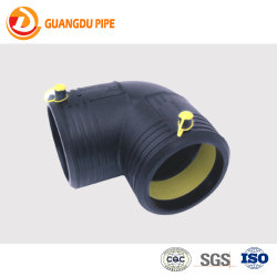 Raccordo HDPE per alimentazione acqua PE100 SDR11 raccordo per tubo di elettro-fusione Raccordo per tubi in HDPE