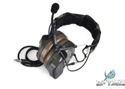 Ztac Arma tática Comtac I Fone de ouvido com Cancelamento de Ruído pegar uma boa arrumação para auscultadores para caça táctico