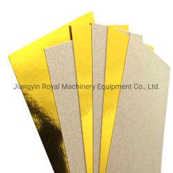 金のアルミホイルのボードのアルミホイルの薄板にされた板紙表紙