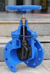 DIN3352-F4 Nrs мягкой посадки фланцевый запорный клапан, PN10/16