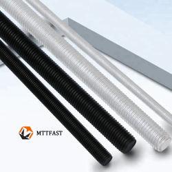 조악한 스레드 DIN 975 DIN976를 가진 탄소 강철 /Stainless 강철에 의하여 스레드되는 로드