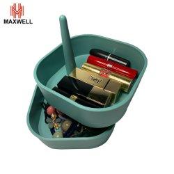 La rotation ajustable Desk ornement rouge à lèvres Boîte de rangement pour Dressing room